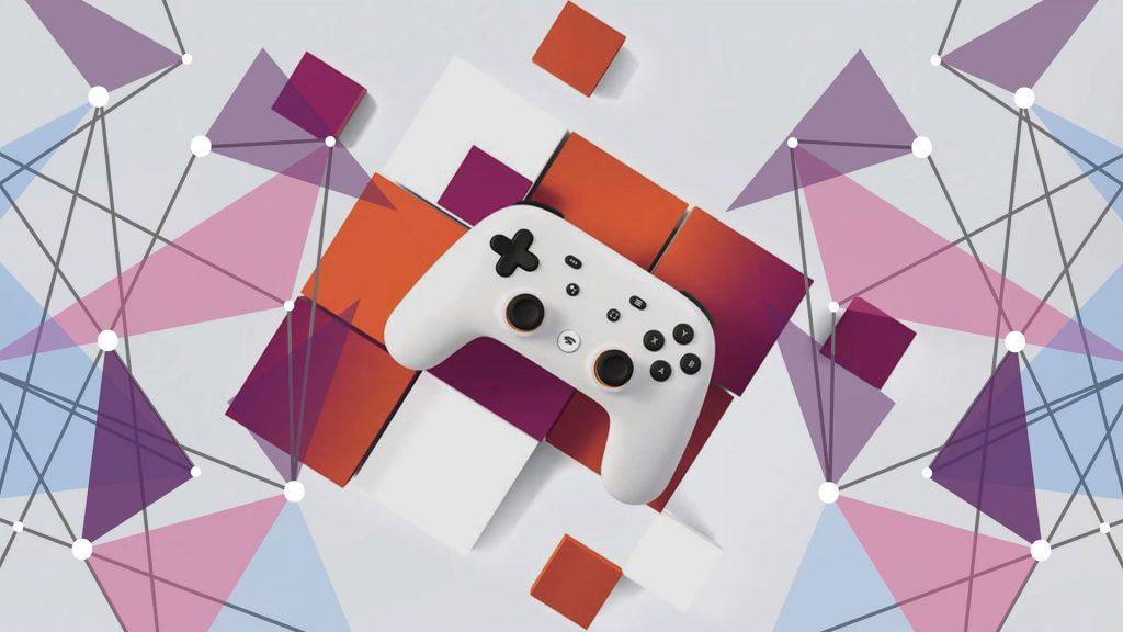 Google Stadia controller launch logo