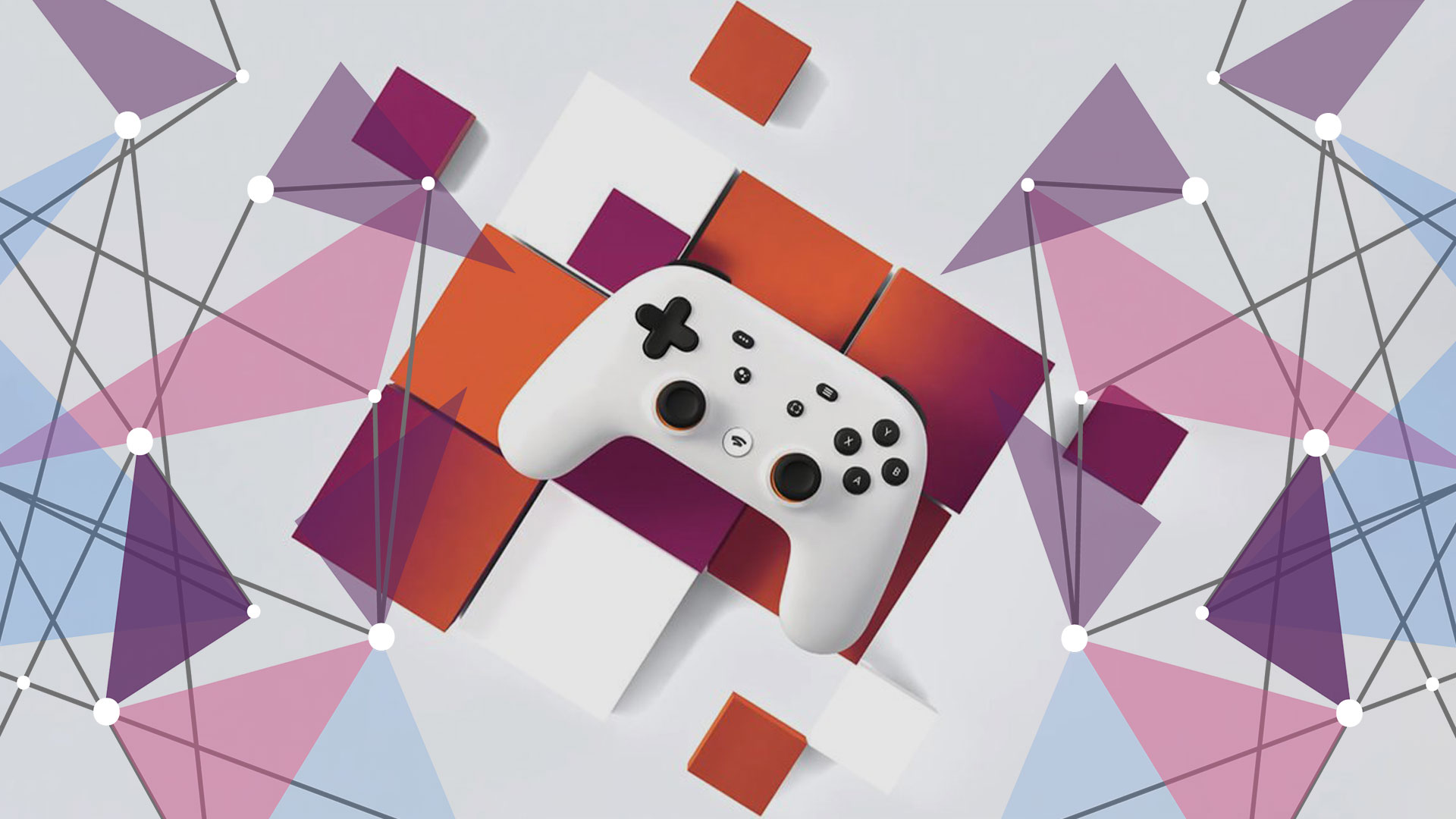 Google Stadia controller launch logo
