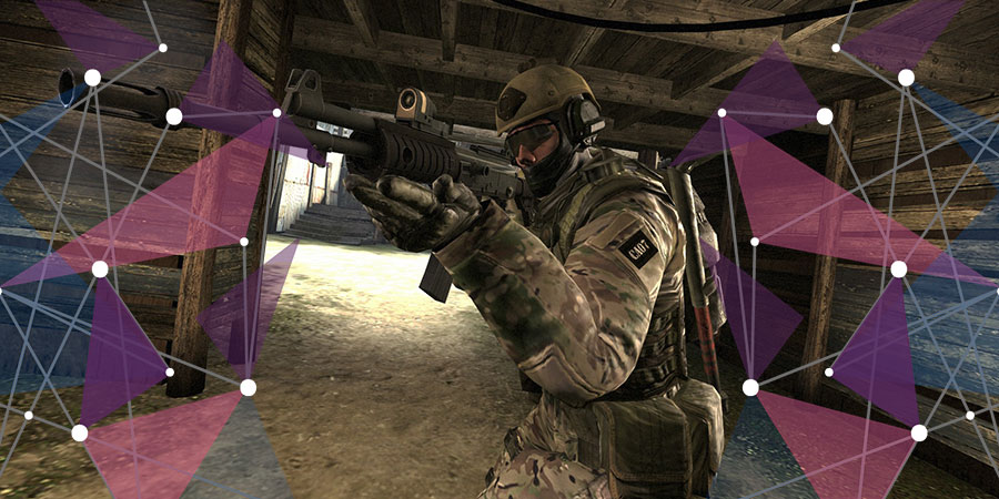 Screenshot of Counterstrike Go gampelay
